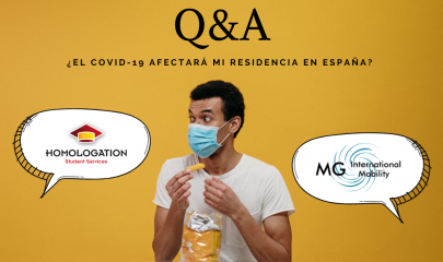 Questions & answers | How does covid-19 afects my residence as an international student in Spain?